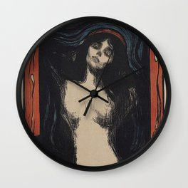 MADONNA - EDVARD MUNCH Wall Clock