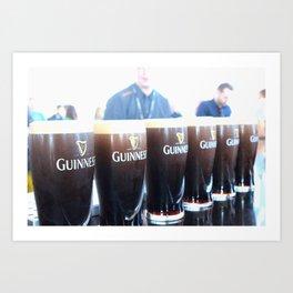 Plenty o' Guinness Art Print