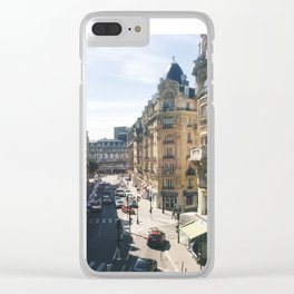 Looking Down on Paris, 12th Arrondissement Clear iPhone Case