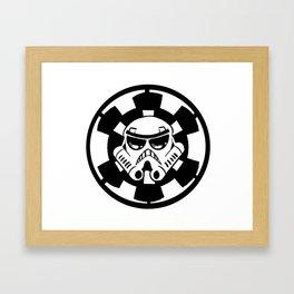 Trooper Framed Art Print