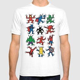Keith Superheroes T-shirt