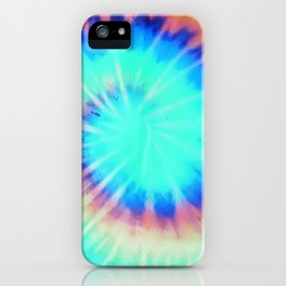 Electric Neon 90s Print iPhone Case