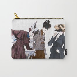 Three Vintage Dresses Carry-All Pouch
