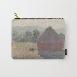 Meules, milieu du jour [Haystacks, midday] Carry-All Pouch