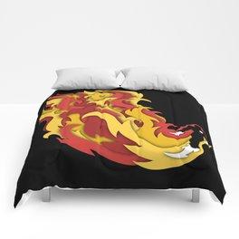 Iron in Flight Comforters