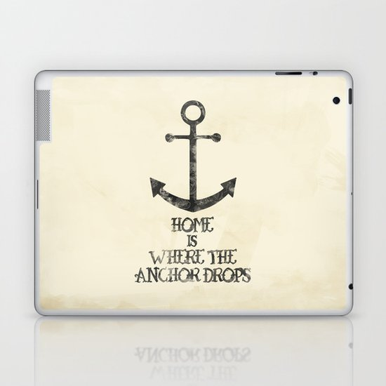 Where The Anchor Drops Laptop & iPad Skin