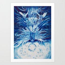 -The Watcher- Art Print