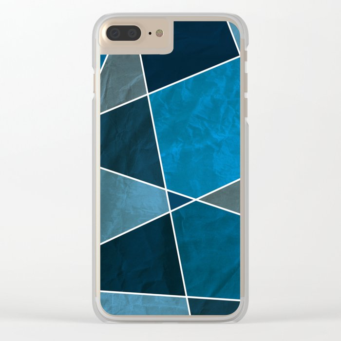 Abstract #332 Clear iPhone Case