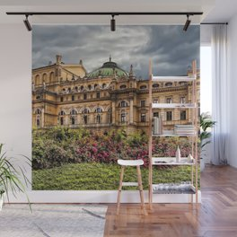 Slowacki Theatre in Cracow Wall Mural