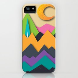 The Glass Mountains iPhone Case
