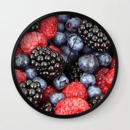 Berry Good! Wall Clock