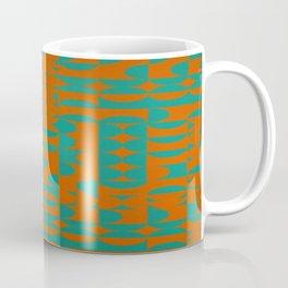 Fire red and green Coffee Mug