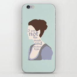 Claire Fraser Quote iPhone Skin