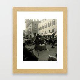 Ferrara (buskers festival) Framed Art Print