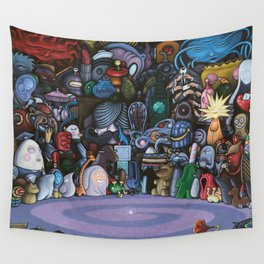 The God Particle Wall Tapestry