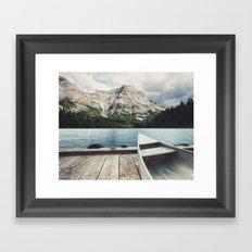 Canoeing the Wilds Framed Art Print