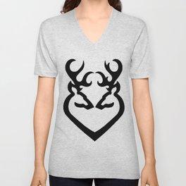 Buck Love Unisex V-Neck