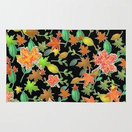 Herbstlaub colorful Rug