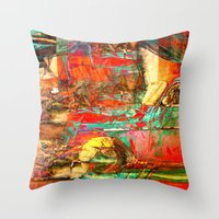 cuba Throw Pillows featuring Cuba Libre by Fernando Vieira