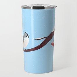 AFE Bird on a branch Travel Mug