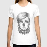 clown T-shirts featuring Clown by Robin Ewers