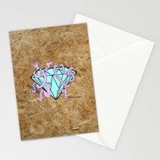 DIAMOND HANDS Stationery Cards