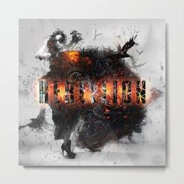 Rebelion Metal Print