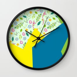 Mix and Match Wall Clock
