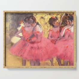 Degas: The Pink Dancers Serving Tray