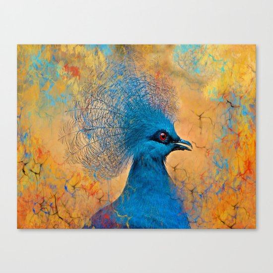 In A Tizzy Canvas Print