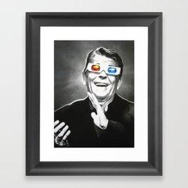 Reaganesque Framed Art Print