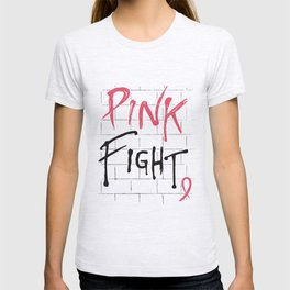 Breast Cancer Awareness Pink Fight Breast Cancer Ribbon Gift nurse T-Shirts T-shirt