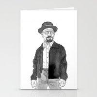 heisenberg Stationery Cards featuring Heisenberg by Andy Christofi