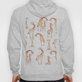 Tan Giraffes Hoody