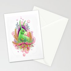 Green donkey Stationery Cards