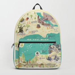 Princess Bride Discovery Map Backpack