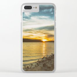 HIPPIE DREAMING Clear iPhone Case