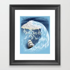 Perfect Storm Framed Art Print