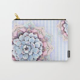 succulent mandala Carry-All Pouch