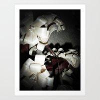 valentine Art Prints featuring Valentine by Françoise Reina