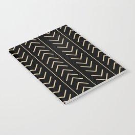 Mudcloth Black Notebook