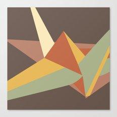 Abstract Crane Canvas Print