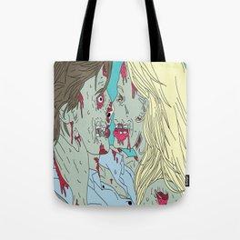Kiss of death Tote Bag