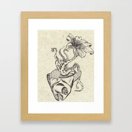 OctoFish Framed Art Print