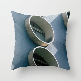 Pod Architecture Throw Pillow