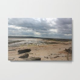 Low Tides Metal Print