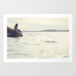 No Need to be Lonely. Art Print