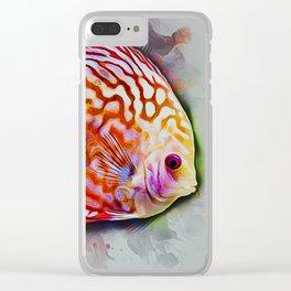Discus Fish Clear iPhone Case