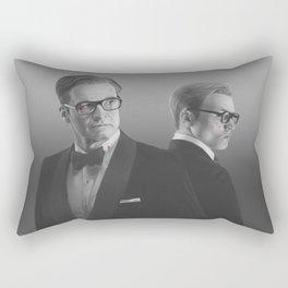 Modern knights Rectangular Pillow