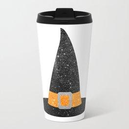 Glitter Witch Hat Travel Mug